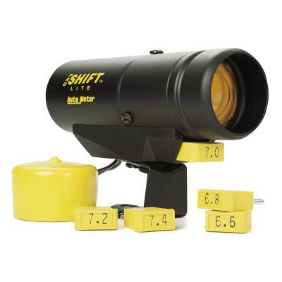 Auto Meter - Auto Meter Shift Light; Amber; Pedestal; Black; Pro Shift-Lite; Std. Ignition; Incl. 3k RPM 5340 - Image 2
