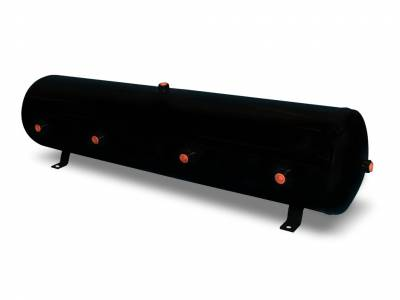 Air Lift Performance - Air Lift Performance 12 Gallon Air Tank;  (8) 1/2'' ports; 12 1/2'' H x 44'' L; DOT Approved 10997