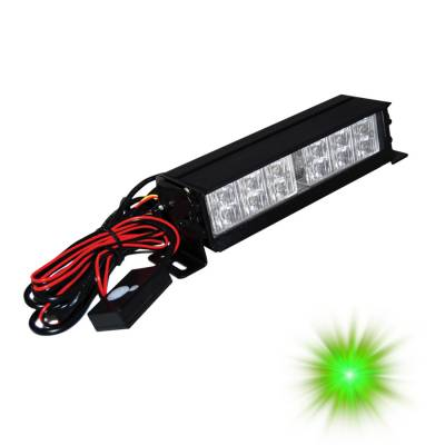 Engine Parts & Performance - Engine Dress Up - Oracle Lighting - Oracle Lighting ORACLE 12 LED Interceptor Strobe - Green 3502-004