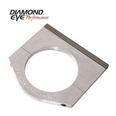 Diamond Eye Performance - Diamond Eye Performance PERFORMANCE DIESEL EXHAUST PART-6in. MACHINED ALUMINUM STACK CLAMP 446006