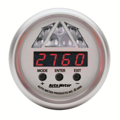 Auto Meter - Auto Meter Gauge; Shift Light; Digital RPM w/Amber LED Light; DPSS Level 1; Ultra-Lite 4387 - Image 2
