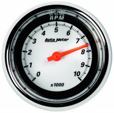 Gauges & Pods - AutoMeter - Auto Meter - Auto Meter 3-3/8in. TACH; 10000 RPM; MCX 1197