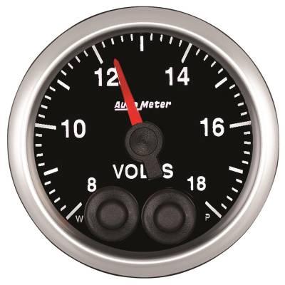 Auto Meter - Auto Meter 2-1/16in. VOLTMETER; 8-18V COMP 5583
