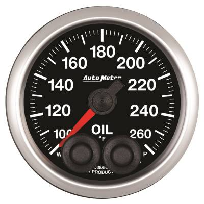 Gauges & Pods - IssPro - Auto Meter - Auto Meter 2-1/16in. OIL TEMP; 100-260F; COMP 5538