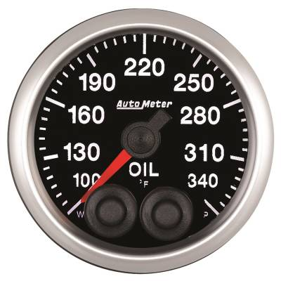 Gauges & Pods - IssPro - Auto Meter - Auto Meter 2-1/16in. OIL TEMP; 100-340F; COMP 5540