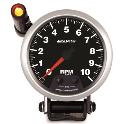 Gauges & Pods - IssPro - Auto Meter - Auto Meter 3-3/8in. TACH; 10000 RPM; MINI MONSTER; COMP 5590