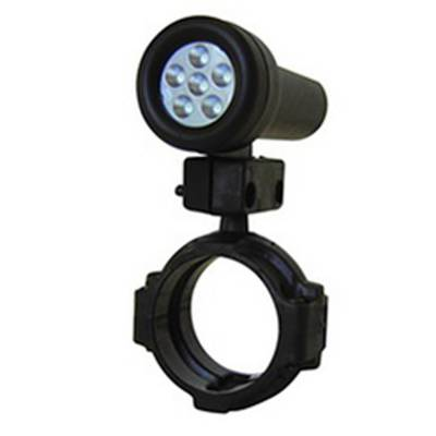 Auto Meter - Auto Meter Shift Light; 5 Red LED; Black; incl. 1.75in. Roll Cage Mount; for Race Use Only 5320 - Image 2