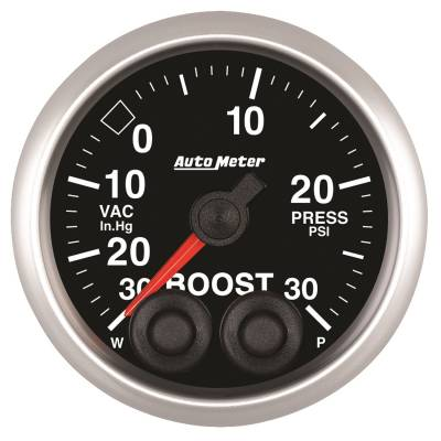 Gauges & Pods - IssPro - Auto Meter - Auto Meter 2-1/16in. BOOST-VAC; 30 IN HG/30 PSI; COMP 5577