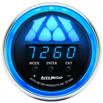 Shop by Category - Interior Accessories - Auto Meter - Auto Meter Gauge; Shift Light; Digital RPM w/multi-color LED Light; DPSS Level 2; Cobalt 6188
