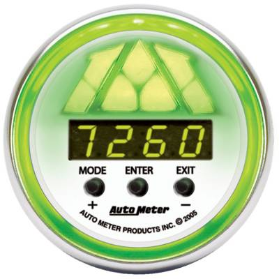 Auto Meter - Auto Meter Gauge; Shift Light; Digital RPM w/multi-color LED Light; DPSS Level 2; NV 7388 - Image 2
