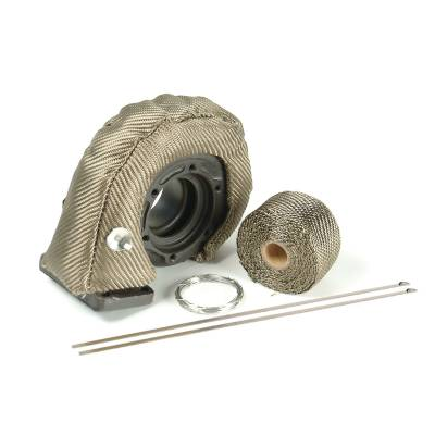 Turbos & Twin Turbo Kits - Turbo Accessories - Design Engineering - Design Engineering Turbo Shield Kit - T3 - Titanium 010141
