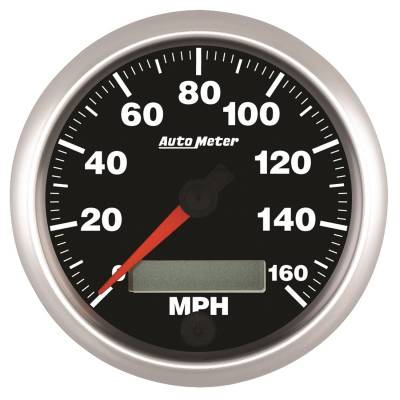 Gauges & Pods - Digital Gauges - Auto Meter - Auto Meter 3-3/8in. SPEEDO; 160 MPH; IN-DASH; PROG; COMP 5588