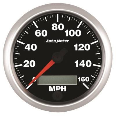 Auto Meter - Auto Meter 3-3/8in. SPEEDO; 160 MPH; IN-DASH; PROG; COMP 5588