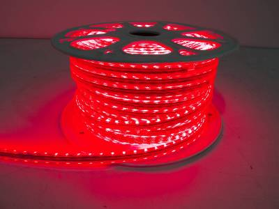 "Race Sport - Race Sport 110V ""Atmosphere"" Waterproof 5050 LED Strip Lighting Red RS-5050-164FT-R"