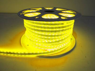 "Race Sport - Race Sport 110V ""Atmosphere"" Waterproof 5050 LED Strip Lighting Yellow MS-5050-164FT-Y"