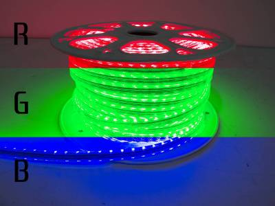 "Lighting - Off Road Lighting / Light Bars - Race Sport - Race Sport 110V ""Atmosphere"" Waterproof 5050 LED Strip Lighting RGB MS-5050-164FT-RGB"