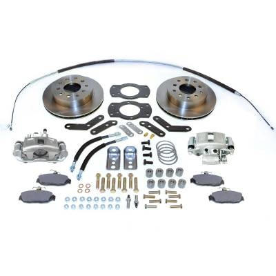 Stainless Steel Brakes - Stainless Steel Brakes Disc Brake Kit Rear - 1 (Single) Piston with 10.5in Rotor - (Full Size GM Car) A125-2