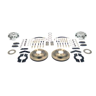 Stainless Steel Brakes - Stainless Steel Brakes Disc Brake Kit Rear - 1 (Single) Piston with 10.5in Rotor - (Full Size GM Car) A125-4