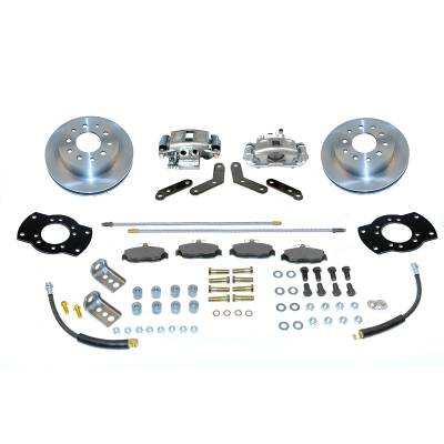 Stainless Steel Brakes - Stainless Steel Brakes Disc Brake Kit Rear - 1 (Single) Piston with 10.5in Rotor - (staggered shocks) A125