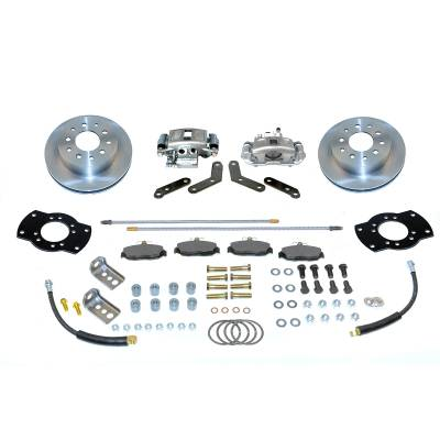 Stainless Steel Brakes - Stainless Steel Brakes Kit Front - 1 (Single) Piston with 11in Rotor - Power - Stock Ride Height A125-1