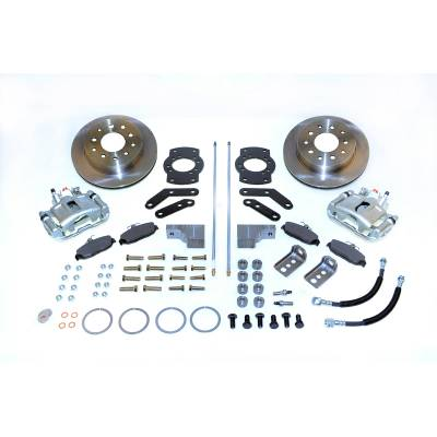 Stainless Steel Brakes - Stainless Steel Brakes Kit Front - 1 (Single) Piston with 11in Rotor - Power - Stock Ride Height A125-3