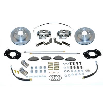 Stainless Steel Brakes - Stainless Steel Brakes Disc Brake Kit Rear - 1 (Single) Piston with 10.5in Rotor A125-46