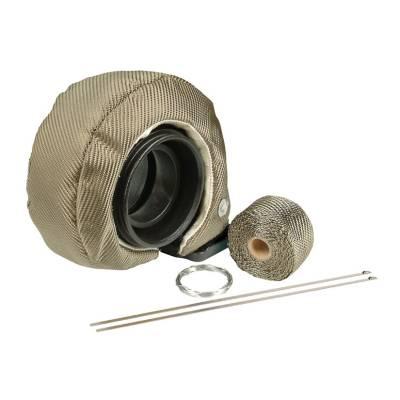 Turbos & Twin Turbo Kits - Turbo Accessories - Design Engineering - Design Engineering Turbo Shield Kit - T6 - Titanium 010147
