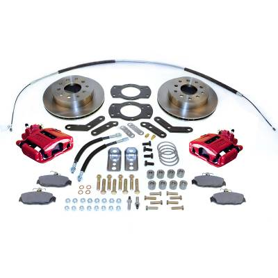 Stainless Steel Brakes - Stainless Steel Brakes Kit Front - 1 (Single) Piston with 11in Rotor - Power - Stock Ride Height A125-1R