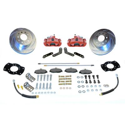Stainless Steel Brakes - Stainless Steel Brakes Kit Front - 1 (Single) Piston with 11in Rotor - Power - Stock Ride Height A125-2R