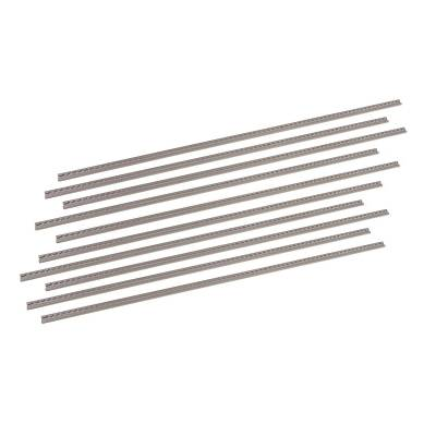 Mr Gasket - Mr Gasket ANCHORTRX SILVER TRACK10PCBULK 3576