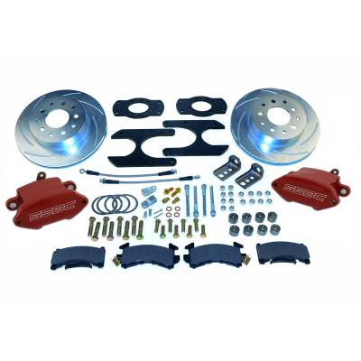 Stainless Steel Brakes - Stainless Steel Brakes Kit Front - 1 (Single) Piston with 11in Rotor - Power - Stock Ride Height A125-30R