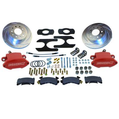 Stainless Steel Brakes - Stainless Steel Brakes Kit Front - 1 (Single) Piston with 11in Rotor - Power - Stock Ride Height A125-27R