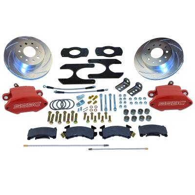 Stainless Steel Brakes - Stainless Steel Brakes Rear - 1 Piston Sport R1 Plus with 12.8in Rotor - (non-staggered shocks) A125-37R