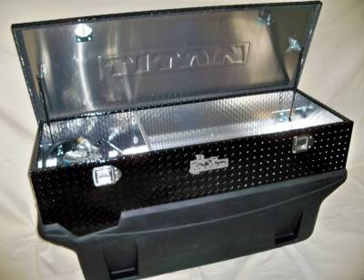 Titan Fuel Tanks - Titan Fuel Tanks Large Black Diamond Toolbox 99 9116 0000