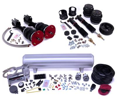 Air Lift Performance - Air Lift Performance Air Lift Performance - Manual Combo Kit 78002
