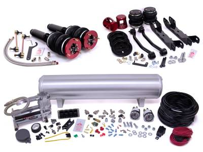 Air Lift Performance - Air Lift Performance Air Lift Performance - Manual Combo Kit 78012