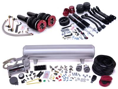 Air Lift Performance - Air Lift Performance Air Lift Performance - Manual Combo Kit 78011