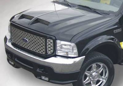 98.5-02 24 Valve 5.9L - Exterior Accessories - Hoods / Tail Gates