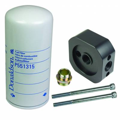 Lift Pumps & Fuel Systems - Filtration Systems - BD Diesel - BD Diesel Flow-MaX Add-On Post Fine Particle Fuel Filter Kit 1050340-PFF