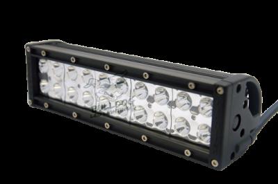 "Bulldog LED Lighting - Bulldog LED Lighting 10"" Bulldog Lighting Light Bar - Double Row - Spot - Bottom Mount 101DRB-20227"