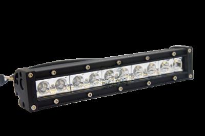 "Bulldog LED Lighting - Bulldog LED Lighting 10"" Bulldog Lighting Light Bar - Single Row - Flood - Bottom Mount 102SRB-20722"