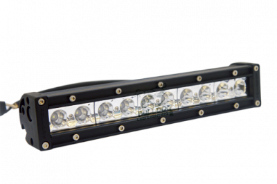 "Bulldog LED Lighting - Bulldog LED Lighting 10"" Bulldog Lighting Light Bar - Single Row - Spot - Side Bolt Mount 101SRS-20715"