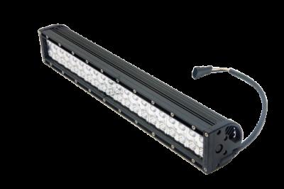 "Bulldog LED Lighting - Bulldog LED Lighting 20"" Bulldog Lighting Light Bar - Double Row - Flood - Side Bolt Mount 202DRS-20319"