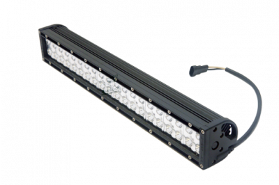 "Bulldog LED Lighting - Bulldog LED Lighting 20"" Bulldog Lighting Light Bar - Double Row - Spot - Side Bolt Mount 201DRS-20296"