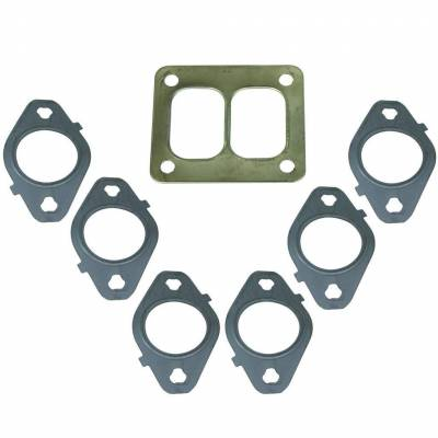 Engine Parts & Performance - Gaskets / Seals / Fittings / Bearings - BD Diesel - BD Diesel Gasket Set, Exhaust Manifold T4 Mount -  Dodge 1998.5-2014 5.9L/6.7L 1045986-T4