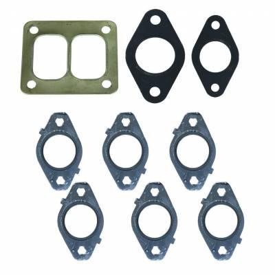 Exhaust Systems / Manifolds - Manifolds / Headers - BD Diesel - BD Diesel GASKET SET, Exhaust Manifold w/T4 Flange - Dodge 6.7L 2007.5-2015 1045992-T4
