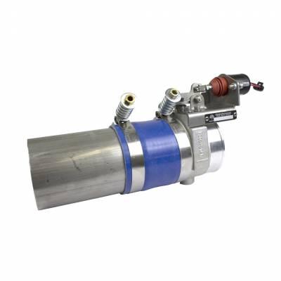 Turbos & Twin Turbo Kits - Turbo Accessories - BD Diesel - BD Diesel Positive Air Shutdown (Manual Controlled) - Generic 4.0in 1036733-M