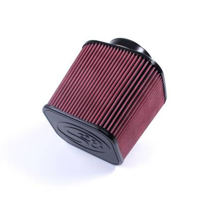 S&B Filters - S&B Filters Replacement Filter for S&B Cold Air Intake Kit 1994-2007 Cummins (Cleanable, 8-ply Cotton) KF-1000