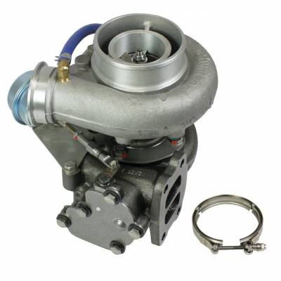 "Turbos & Twin Turbo Kits - Single ""Drop In"" Turbos - BD Diesel - BD Diesel Turbo, HX40 Replacment - Dodge 1994-2002 5.9L Cummins 1045221"