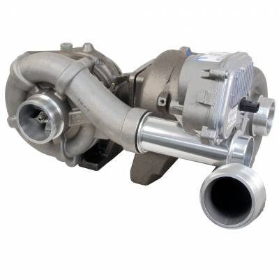 Turbos & Twin Turbo Kits - Compound Turbos - BD Diesel - BD Diesel TWIN TURBO ASSEMBLY - Ford 2008-2010 6.4L PowerStroke 179514-B